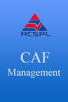 CAF Management poster