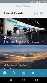 Siemens Fairs & Events poster