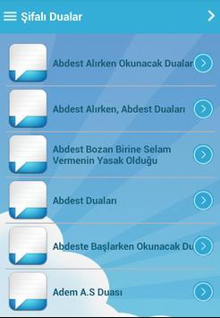 Şifalı Dualar apk screenshot