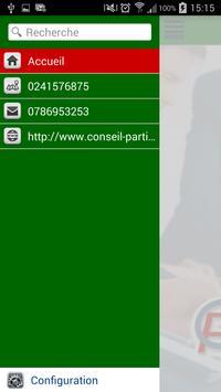 Conseil Particulier apk screenshot