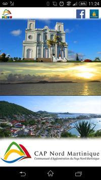 Cap Nord Martinique poster