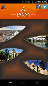 Ville de Lagny sur Marne poster