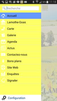 Ville de Lamothe-Goas apk screenshot