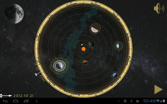 Copernican Orrery poster