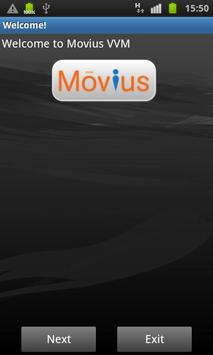 Movius Visual Voicemail poster