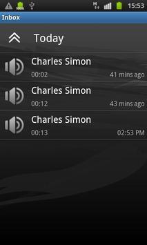 Movius Visual Voicemail apk screenshot