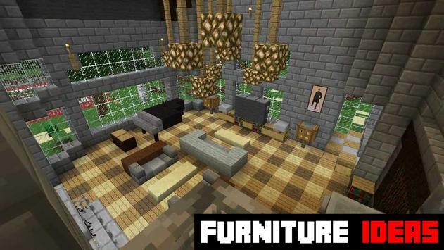 Furniture Ideas MCPE apk screenshot
