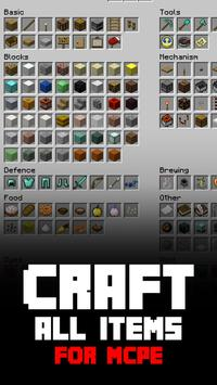 Craft All Items MCPE poster