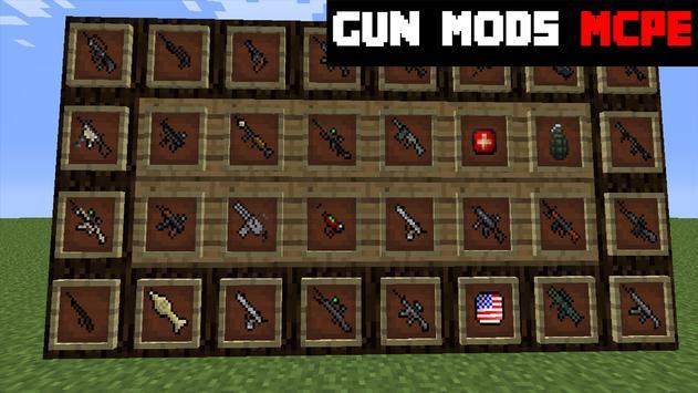 Gun MODS For MCPE apk screenshot