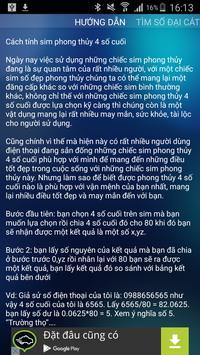 Sim Phong Thuy apk screenshot