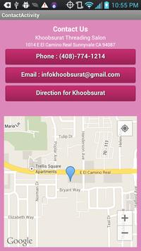 Khoobsurat Threading Salon apk screenshot