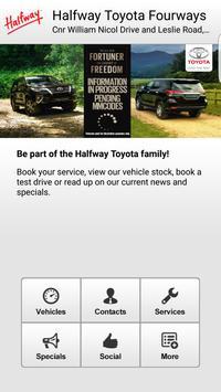 Halfway Toyota Fourways apk screenshot