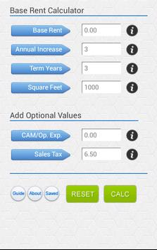 Commercial Rent Calculate Free poster