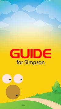 Guide for Simpson Donut 2015 poster