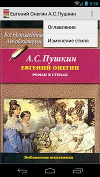 Евгений Онегин  А.С.Пушкин poster