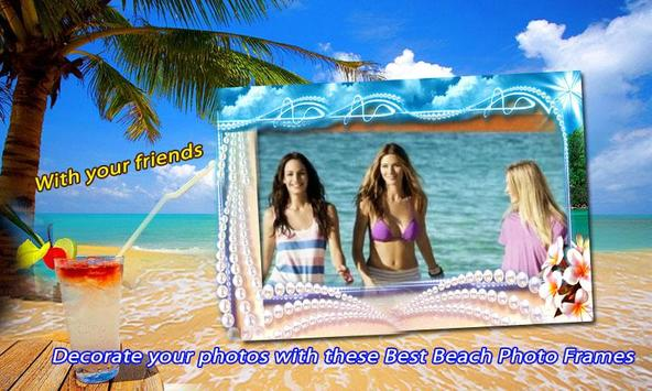 beach photo frame effects apk screenshot