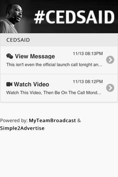 CEDSAID apk screenshot
