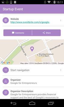 Startup Map Berlin apk screenshot