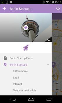 Startup Map Berlin poster