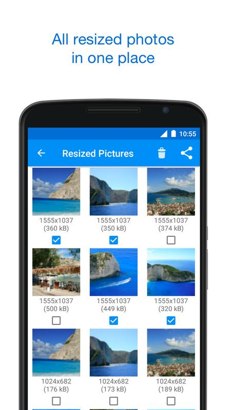 Pic resizer android
