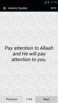 Islamic Quotes poster