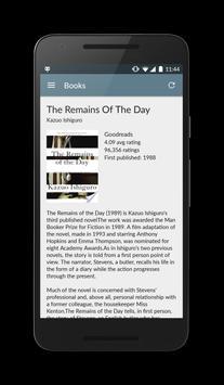 Bkance: Book recommending app poster