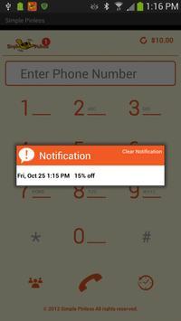 Simple Pinless apk screenshot
