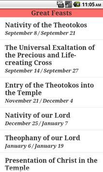 English Orthodox Troparions apk screenshot