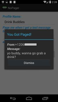 No Pager apk screenshot