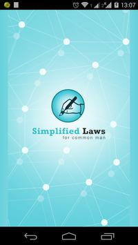 Simplified Laws poster