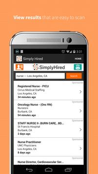 Job Search - Simply Hired apk screenshot