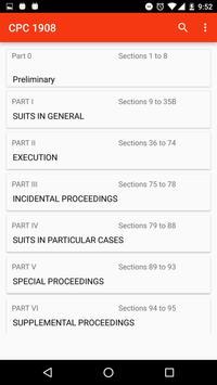CPC - Code of Civil Procedure apk screenshot