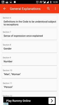 IPC - Indian Penal Code 1860 apk screenshot