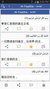 Quran - 中国语文 poster