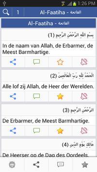 Quran - Dutch poster