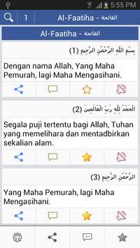 Quran - Melayu poster