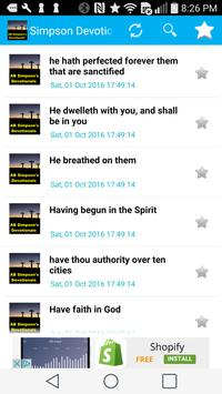 Simpson's Devotionals Daily apk screenshot