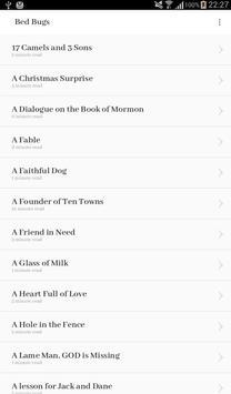 BedBugs: Stories for Children apk screenshot