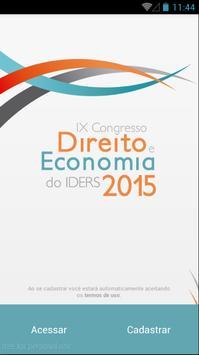 Congresso do IDERS poster