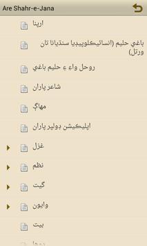Are Shahr-e-Janan apk screenshot