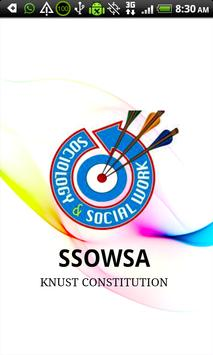 SSOWSA KNUST CONSTITUTION poster