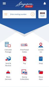 SingPost Mobile App poster