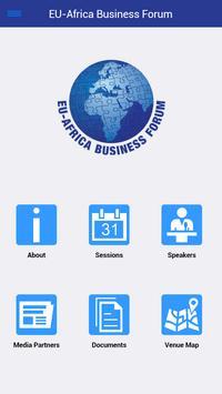 EU-Africa Business Forum poster