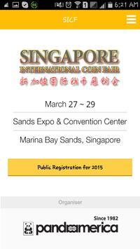 Singapore Coin Fair 2015 apk screenshot