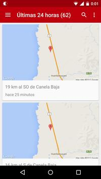 Sismos Chile apk screenshot