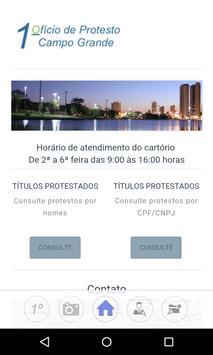 1º Protesto de Campo Grande poster