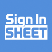 Sign In Sheet icon