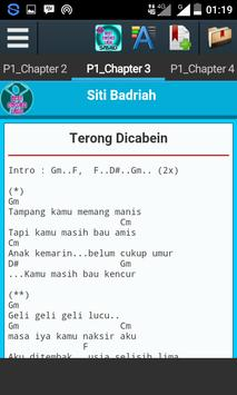 Best Chord Song Siti Badriah apk screenshot