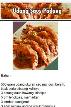 Resep Seafood apk screenshot