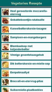 Vegetaries Resepte poster